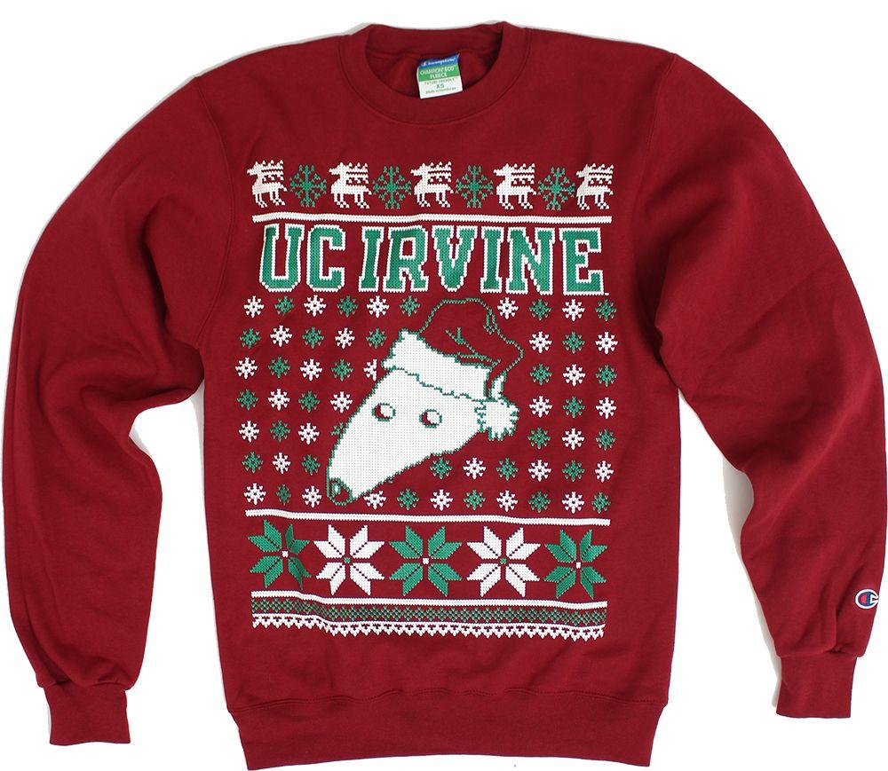 UC Irvine Anteaters Ugly Christmas Sweater - Maroon | Wish List ...