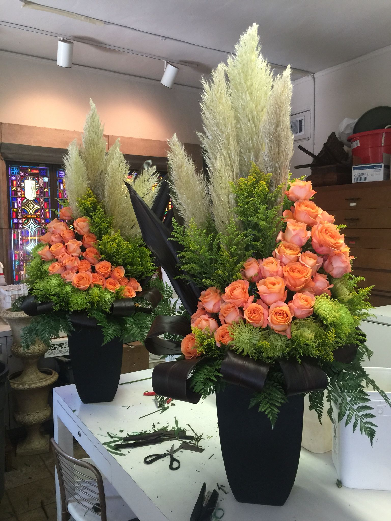 Almost Done Large Flower Arrangements Fresh Flowers