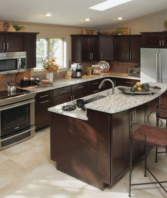 Best Georgetown Coffee Kountry Wood Products Kitchen 400 x 300