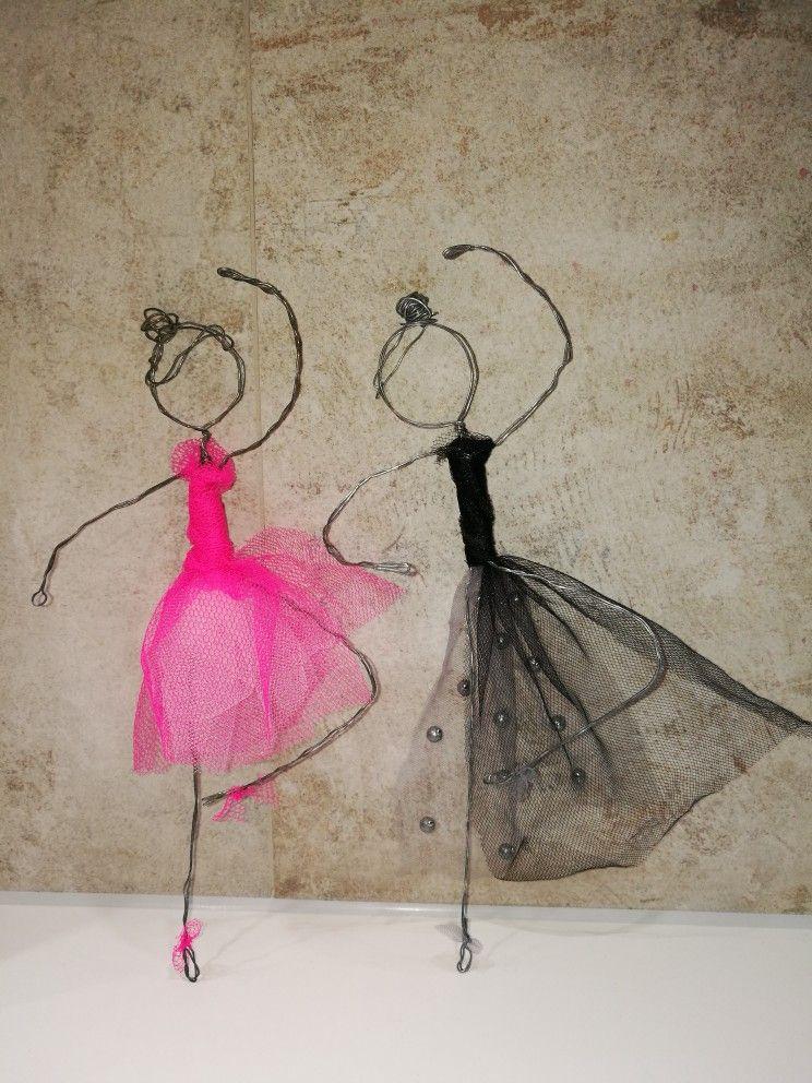 Duett * Wire Ballerina * DIY | 3D pen art | Pinterest | Draht, Draht ...