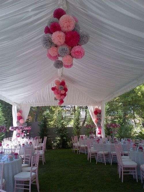 decoracion para 15 años al aire libre con globos (4) | party & event