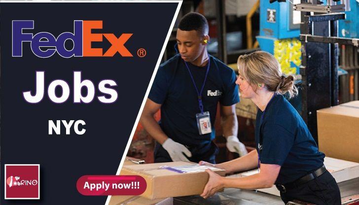 Fedex is hiring now in NYC (Fedex Jobs in NYC) Fedex is