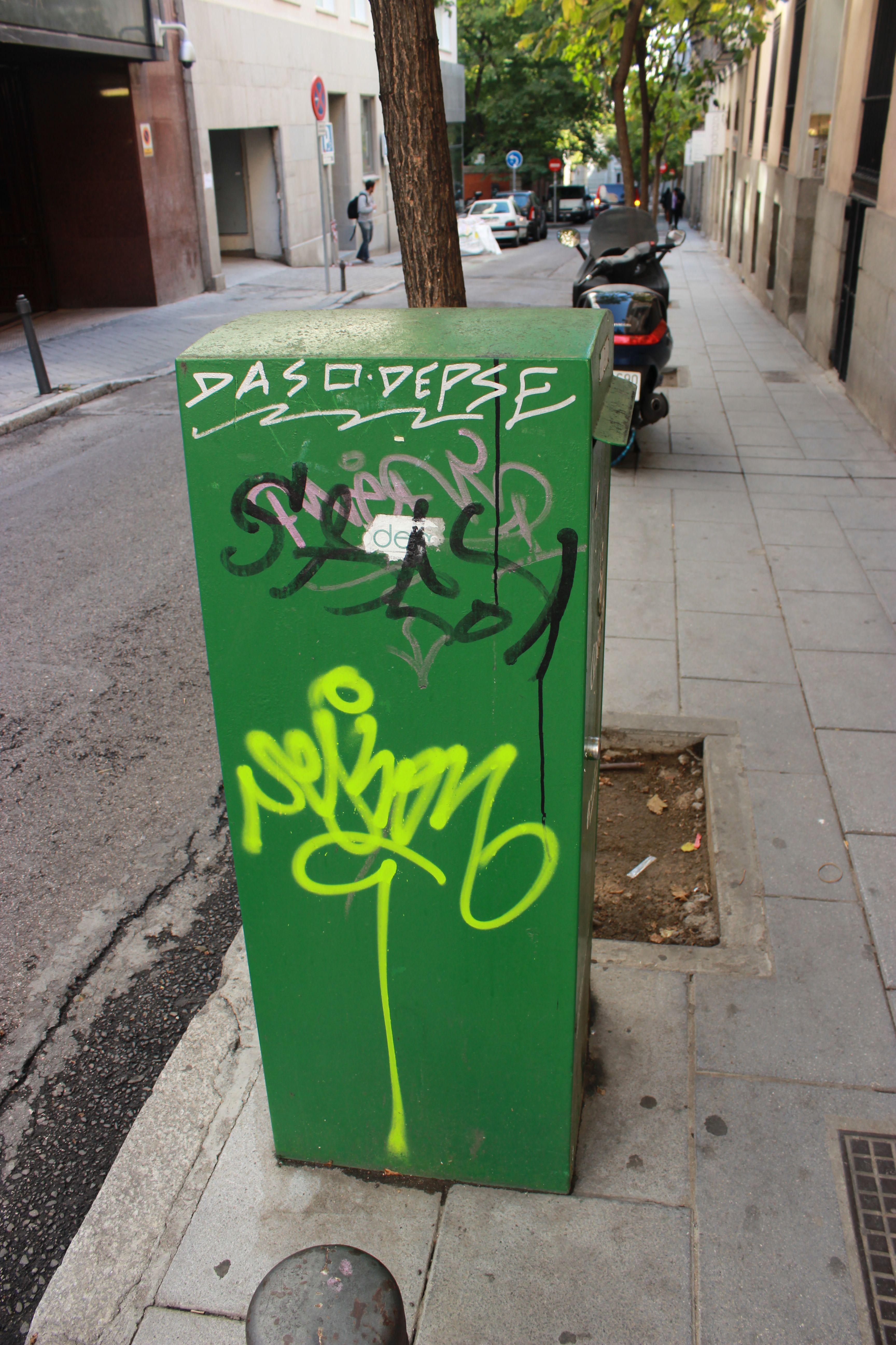 C/ Los Madrazo, 24. Barrio Huertas y Las Letras. Madrid. 2015.