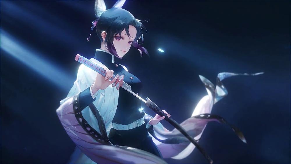 Shinobu Kocho Live Wallpaper Youtube In 2020 Anime Wallpaper Live Free Animated Wallpaper Anime Wallpaper