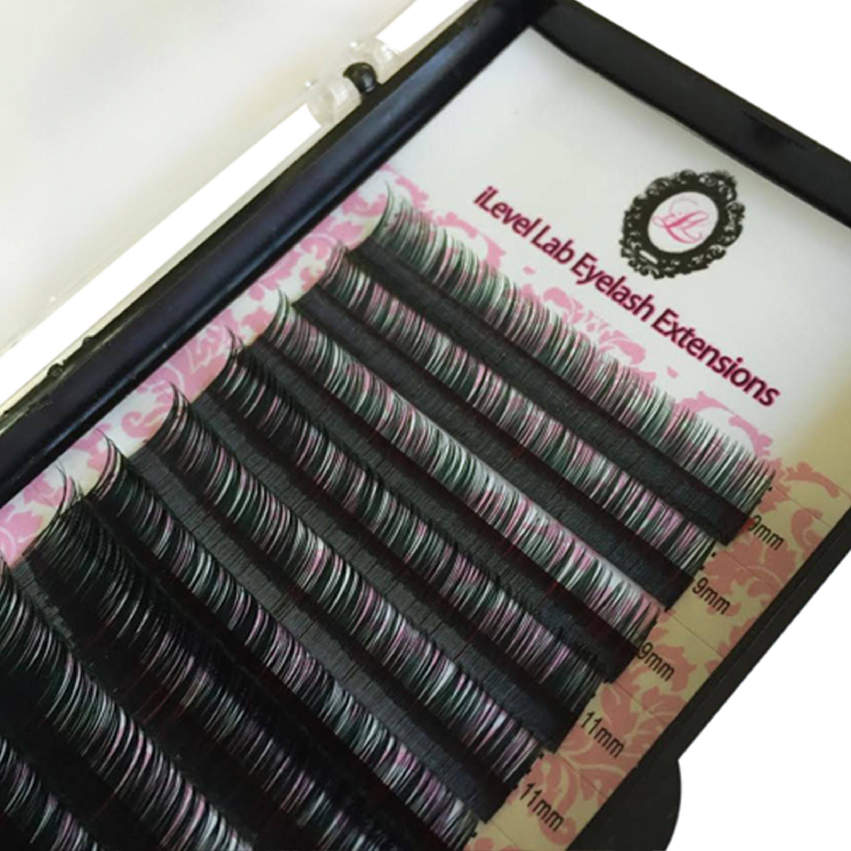 31a680ffd21 Green ombré lashes | Eyelashes | Eyelash extensions, Eyelashes, C curl