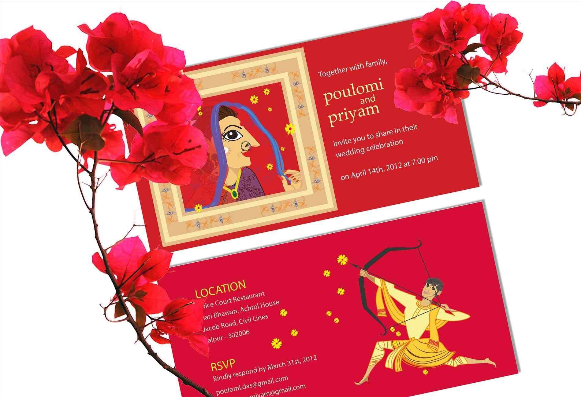 unique indian wedding invitations | Pinterest | Indian wedding ...