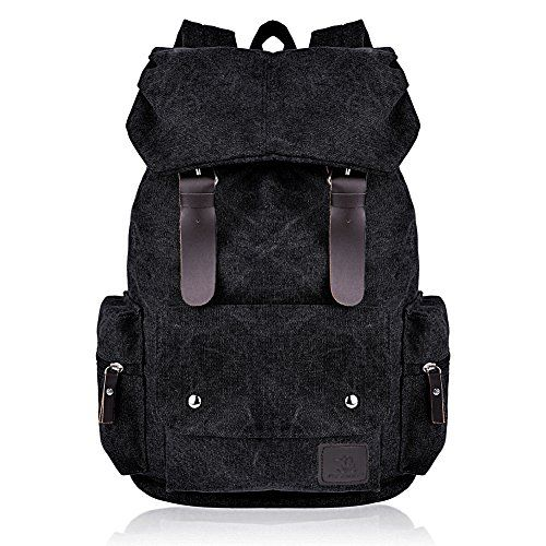 3a15784c0f Vbiger Cool Canvas Casual Backpack for Women