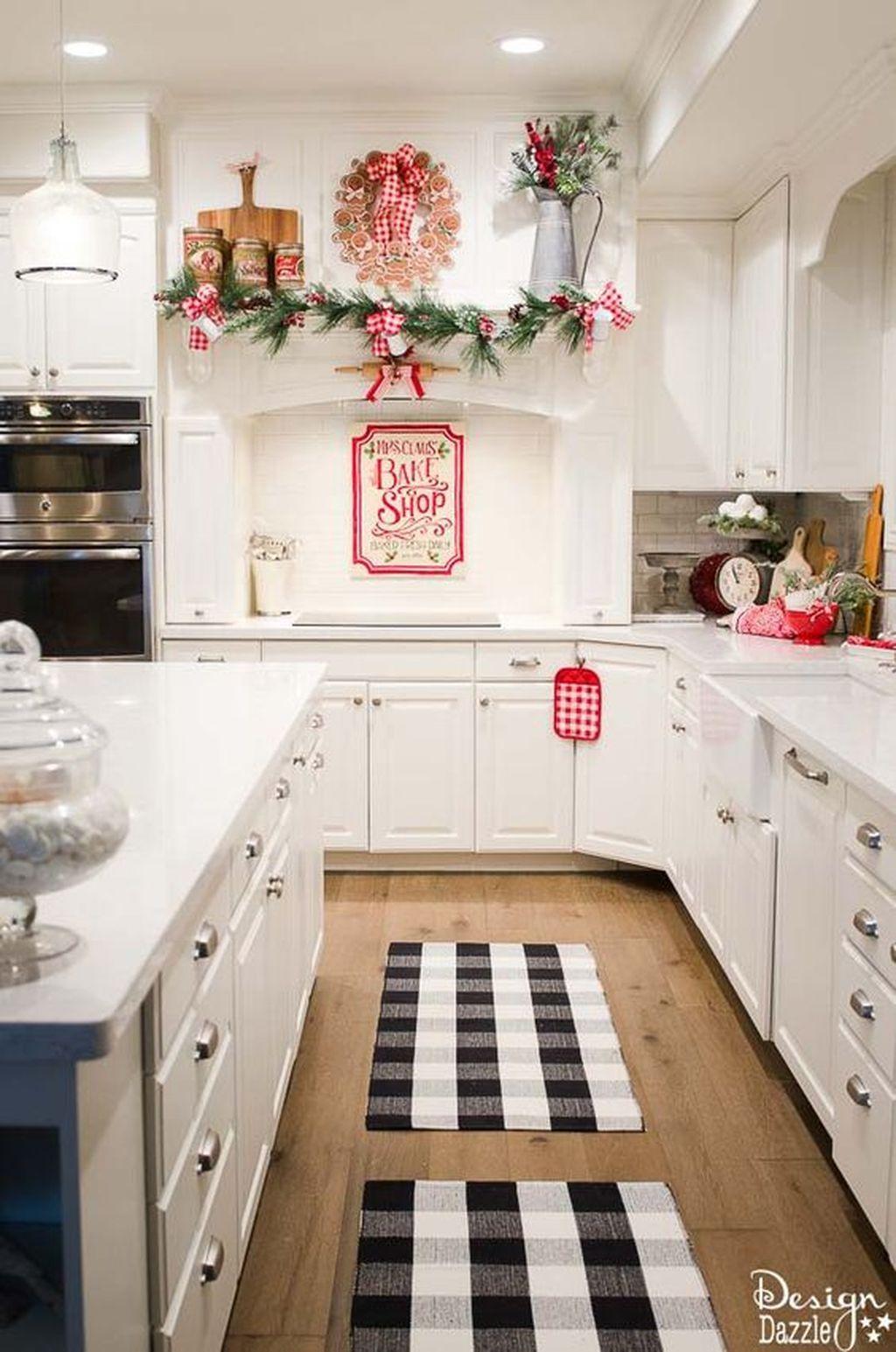 adorable rustic christmas kitchen decoration ideashomedecorish