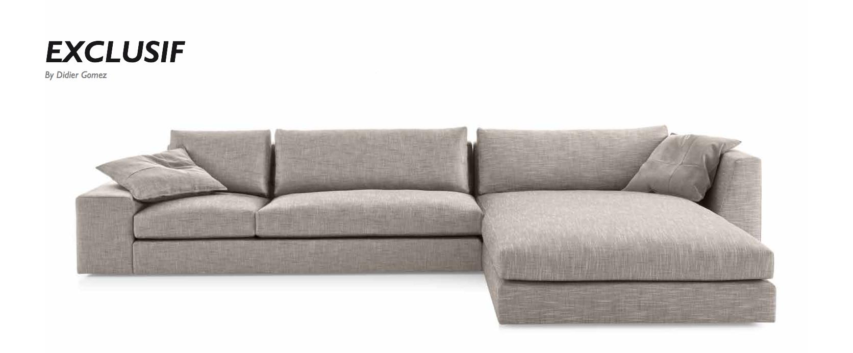 exclusif by didier gomez ligne roset quick ship program. Black Bedroom Furniture Sets. Home Design Ideas