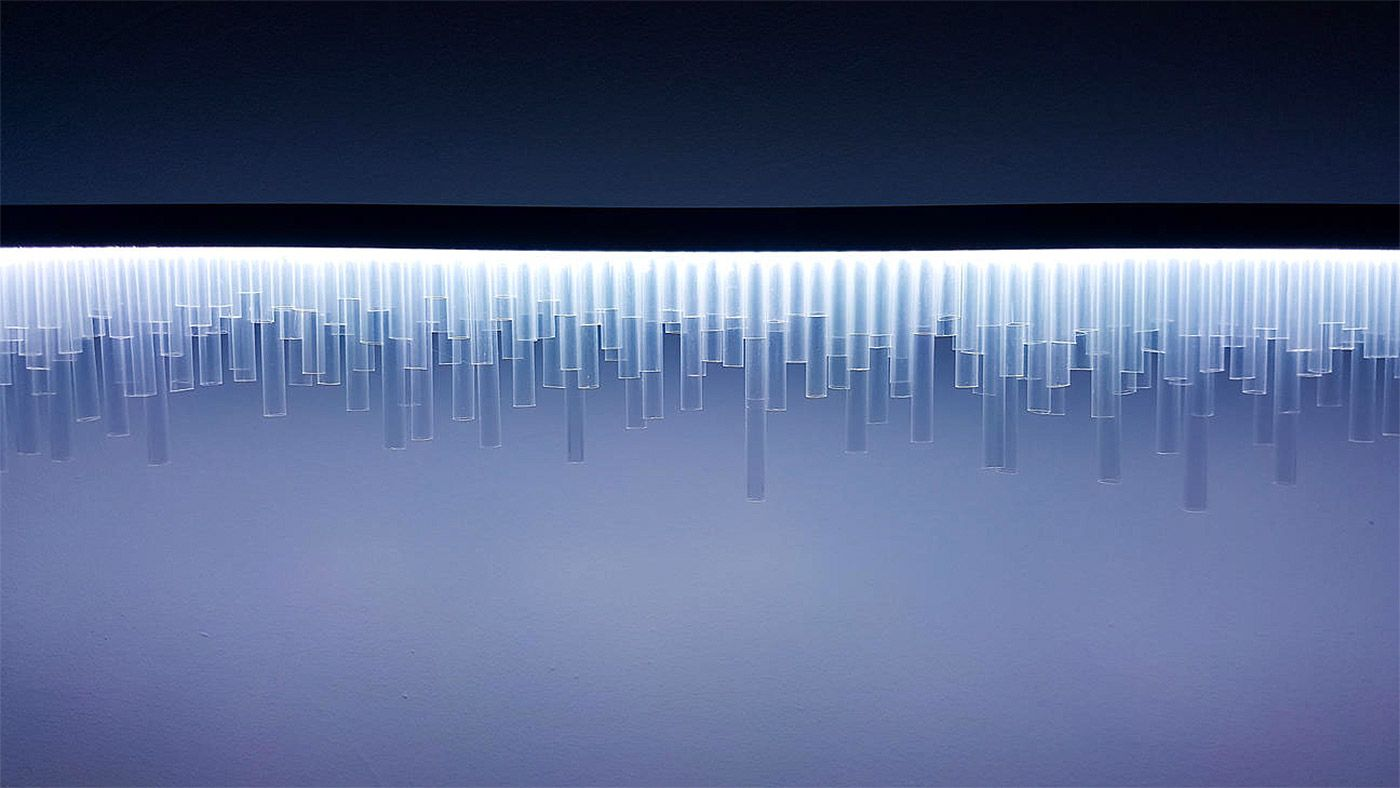 Earthquake Lamp by Parse Error – Inspiration Grid | Design Inspiration #art #artwork #artinstallation #interactive #lighting #lightingdesign #inspirationgrid