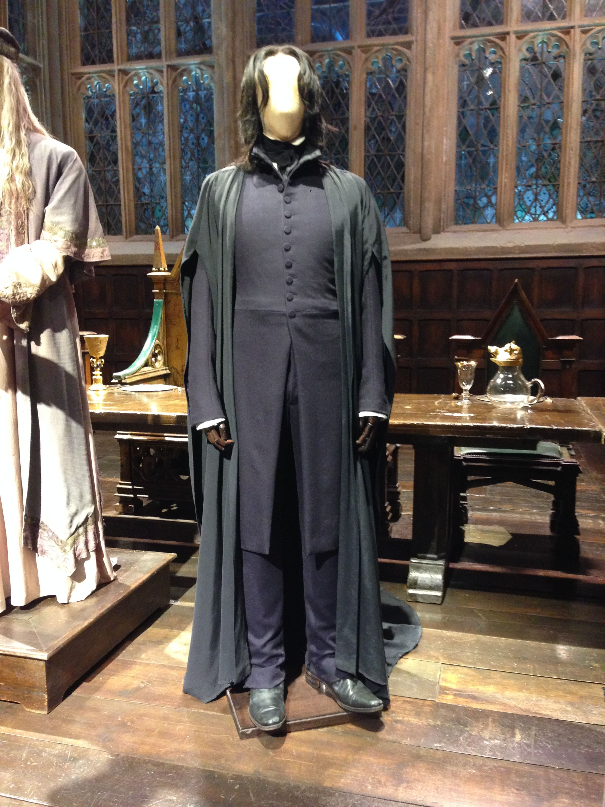 Professor Snape Costume From The Harry Potter Films Snape Costume Harry Potter Costume Harry Potter Cosplay