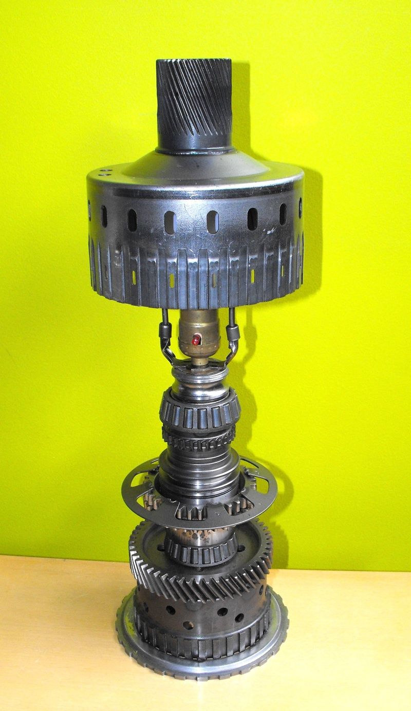 Transmission parts lamp | Things made out of car \u0026 Motorcycle ...