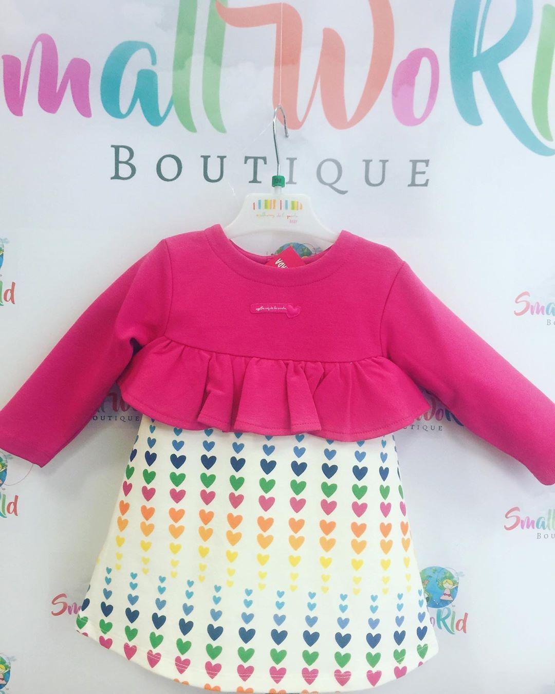 Agatha Baby dress Aw19 #fashion#love #dress #girls #babies #christmas #autumn #shop #smallworld #bou...