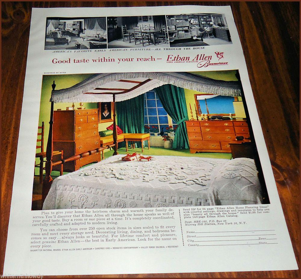 1960u0027s Ethan Allen Early American Furniture | 1000x1000