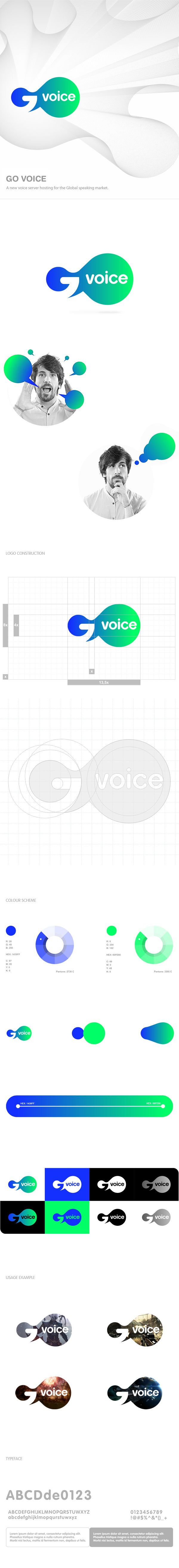 Go Voice by Fuse Collective #logo #voice #id