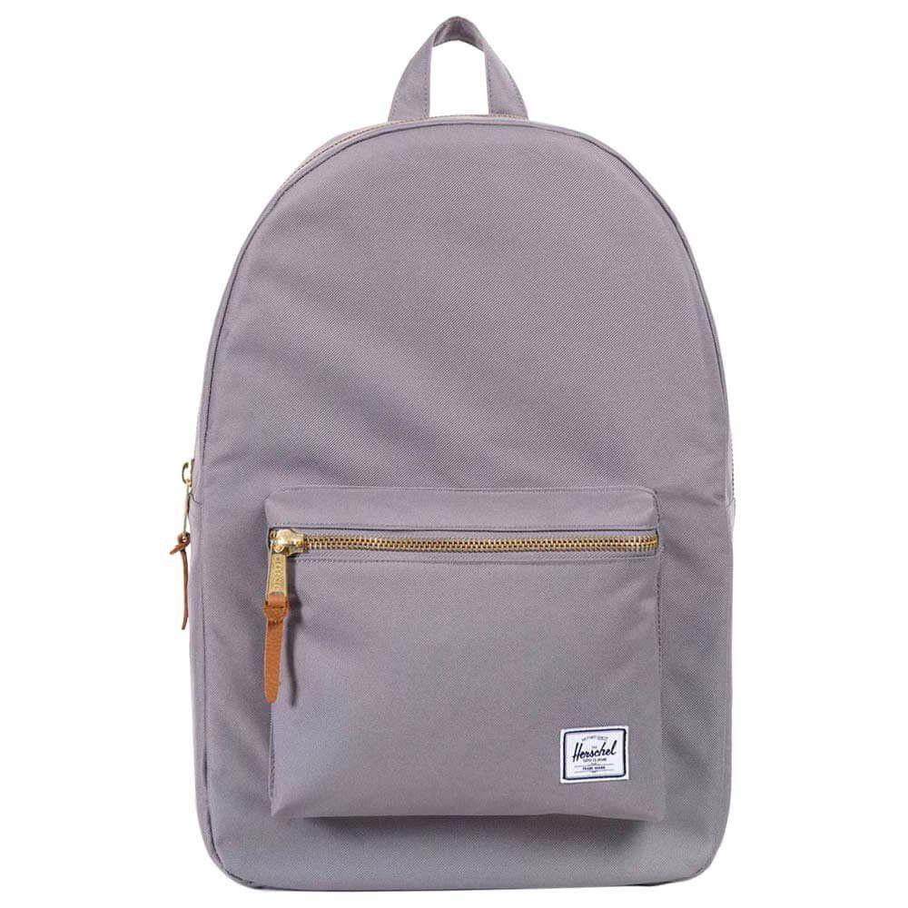 HERSCHEL SUPPLY CO. Herschel Supply Co. Settlement Backpack.   herschelsupplyco.  bags  leather  backpacks  cotton   415d143896abe