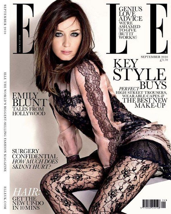 Pin By Emily Lee On Scarlett: Elle UK September 2010 Cover