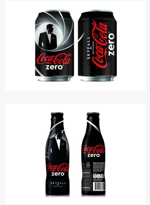 Coca-Cola Zero nuevo empaque! (James Bond)