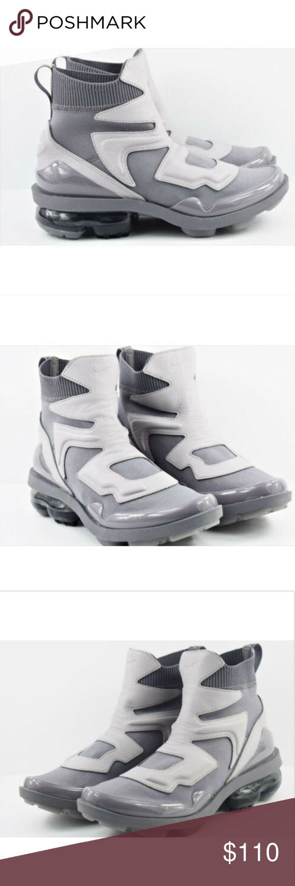 d791888b6c Womens Nike Vapormax Light II Size 8 Shoes AO4537 New without box Womens Nike  Vapormax Light II Size 8 Shoes AO4537 003 Atmosphere Grey Gunsmoke Nike  Shoes ...