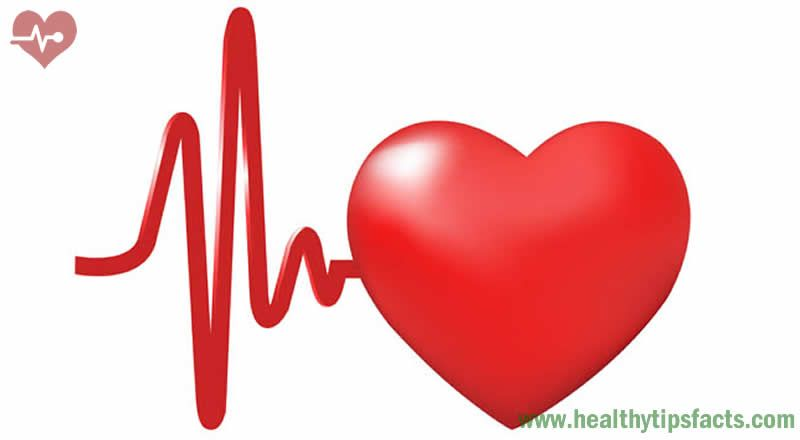 Increased heartbeating, pain in the heart area