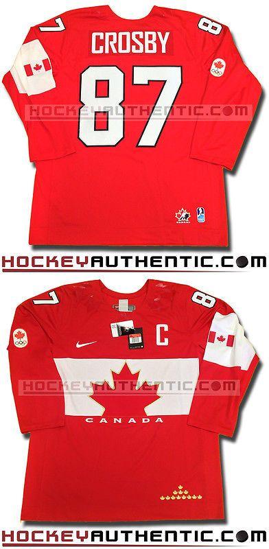 5b09889d1ec Hockey-Team Canada 2868  Sidney Crosby 2014 Team Canada Red Jersey New Sochi  Olympics