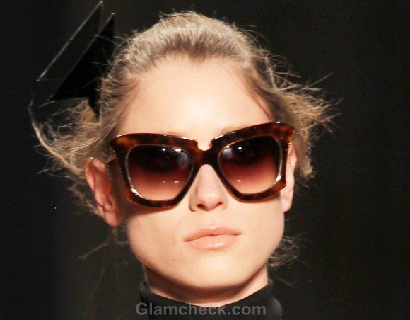 acc7f02dff25 Style Pick of the Day Cat-Eye Frames Cynthia Rowley Fall 2011 collection
