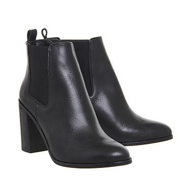 c47bdbb2329 Logo Block Heel Chelsea Boots | Fashion | Chelsea boots, Boots ...