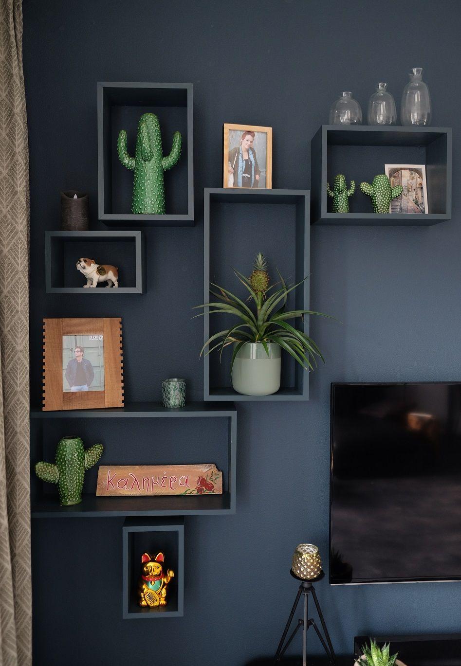 Botanische Decoratie En Wanddecoratie Of Wandkasten Planten Plants Urbanjungle Interie Woonkamer Decoratie Huis Ideeen Decoratie Woonkamer Wanddecoratie