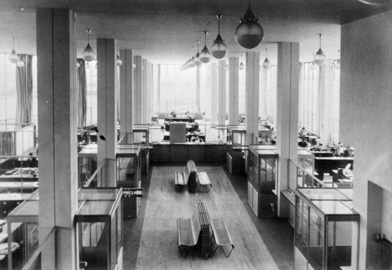 J a vrijhof kantoorruimte begane grond met gispen bank for Archi interieur rotterdam