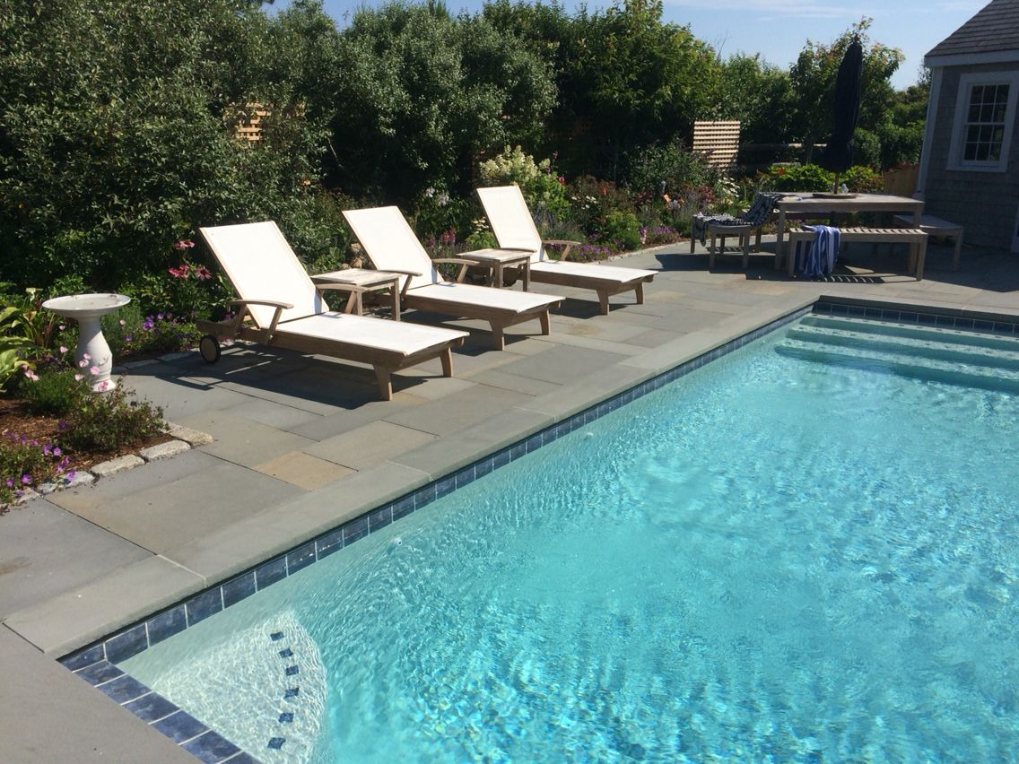 Newly Finished Pool Install Nantucket Pool Installation Unique