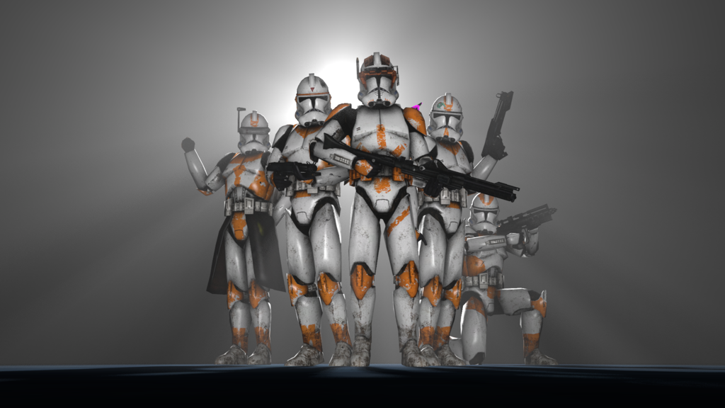 New HD clone models popped up on the gmod workshop Then I saw these