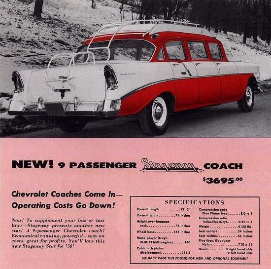 1958 Chevrolet Limousine By Armbruster Stageway Ad Limousine