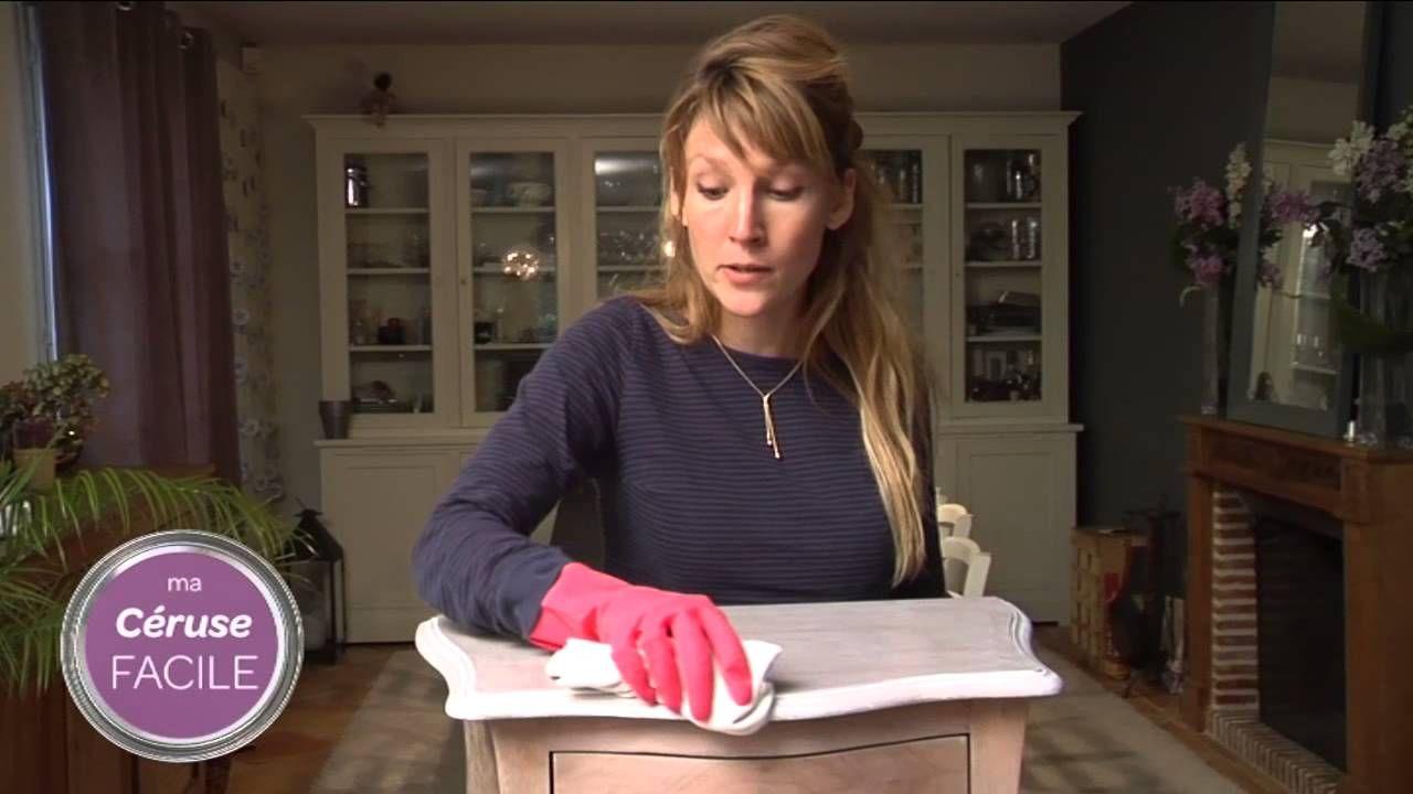 Tutoriel vid o c ruser un meuble en bois avec bondex d co maison - Ceruser un meuble en bois ...