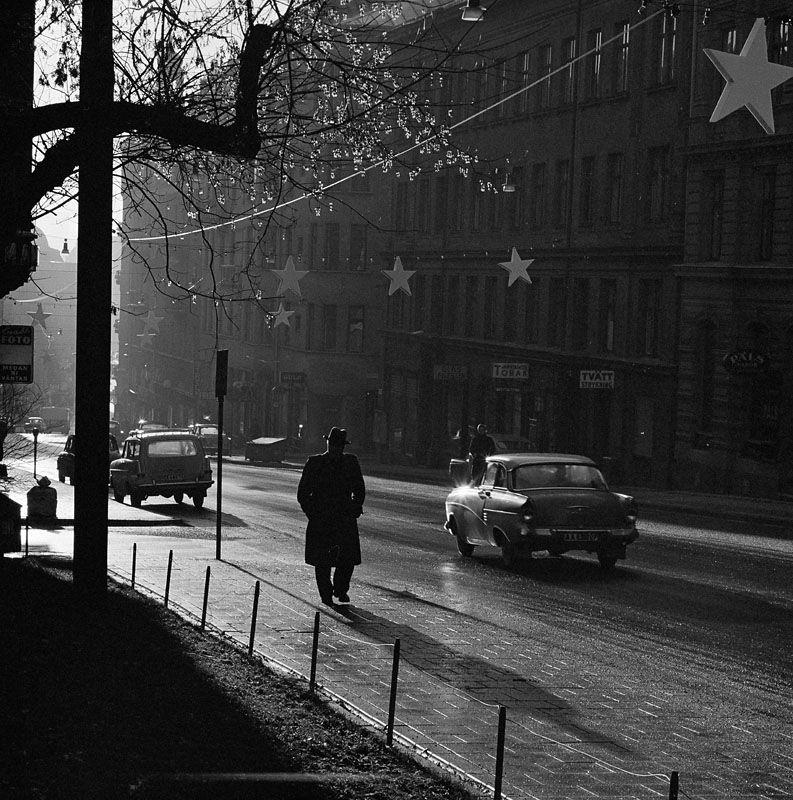 Herbert LindgrenKvarteret BERGSLAGEN, Tegnérlunden, Upplandsgatan 11, Upplandsgatan 9. 1962