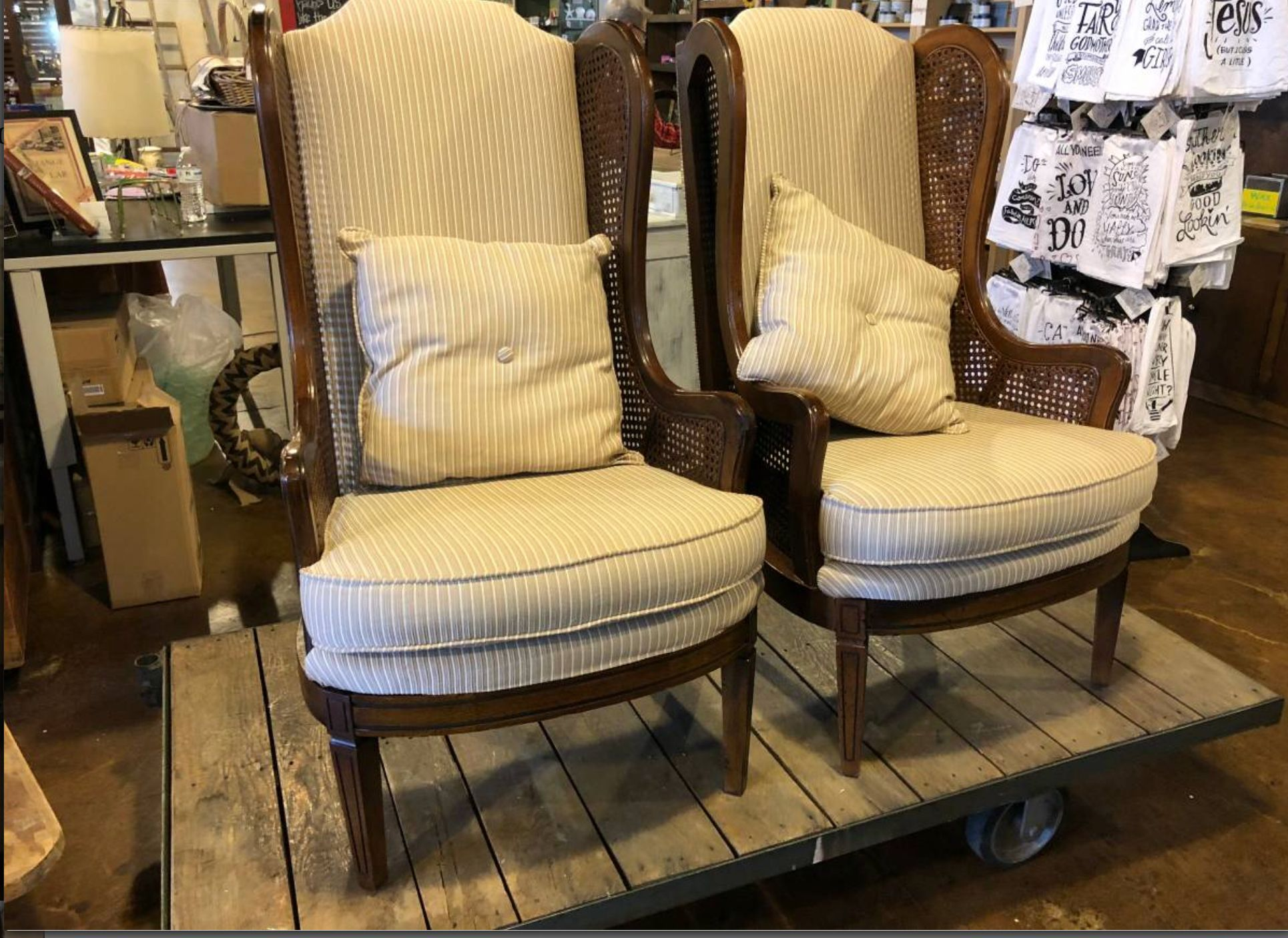 Cane wingback chairs for end wingback chair swivel