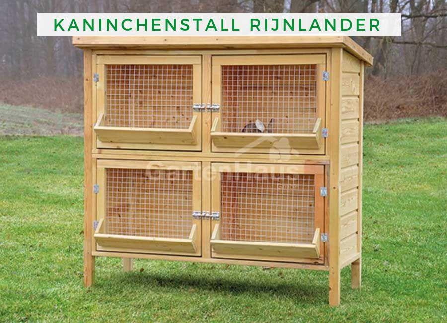 Kaninchenstall Rijnlander Kaninchenstall Kaninchen Hasenstall