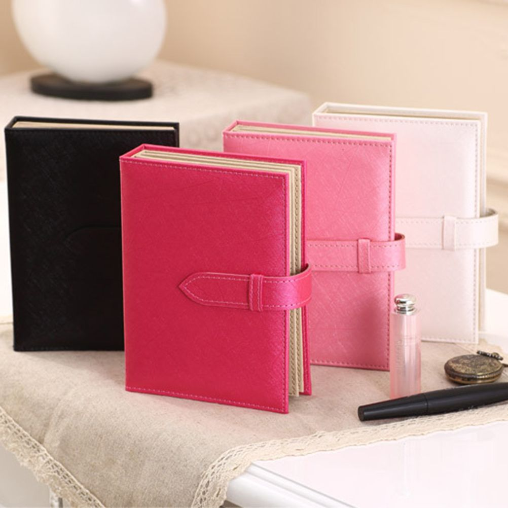 Newest Arrival Portable Book Typed Leather Jewelry Organizer