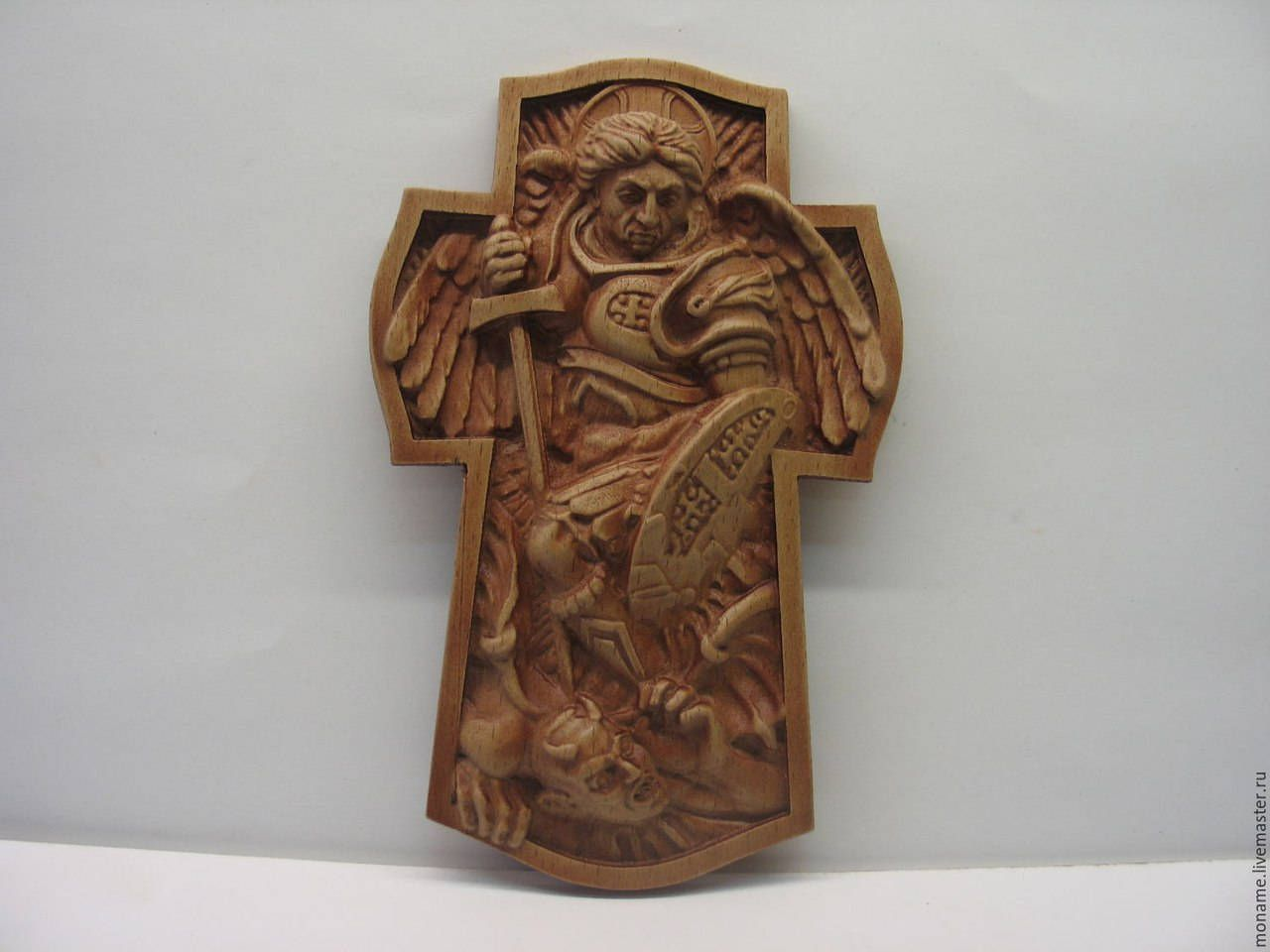 Archangel Michael 3D STL File Model for CNC Router Machine