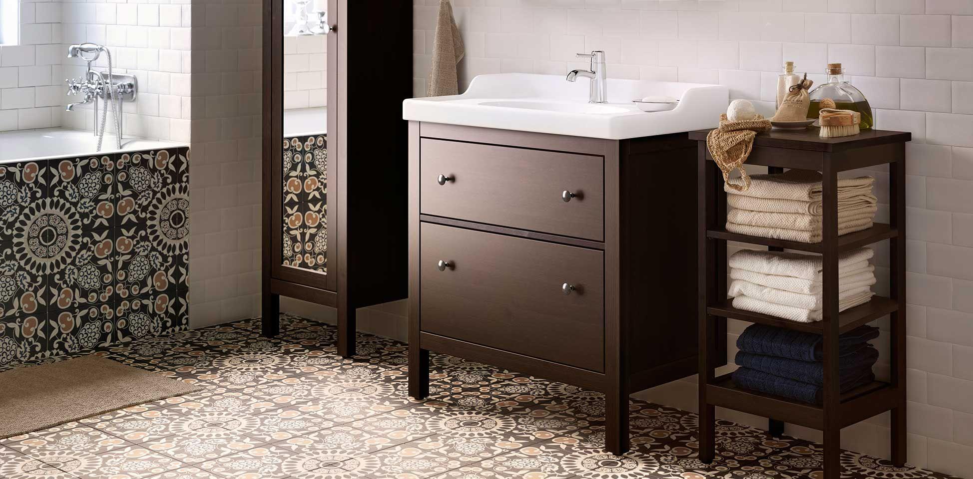Tu estilo no termina antes de empezar el baño. ¡Un mueble ...