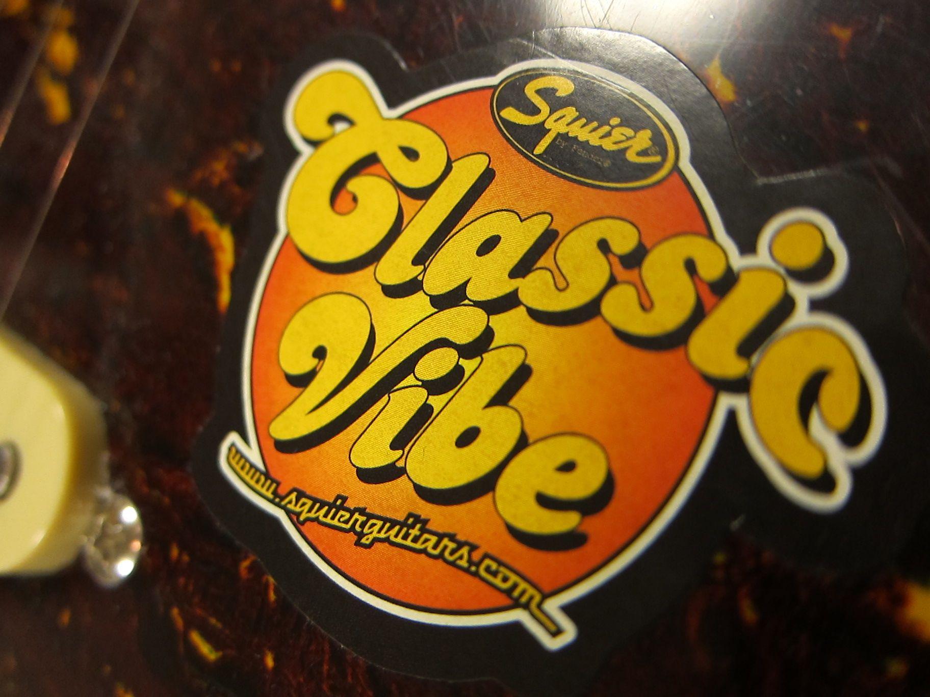 Classic Vibeのステッカー。