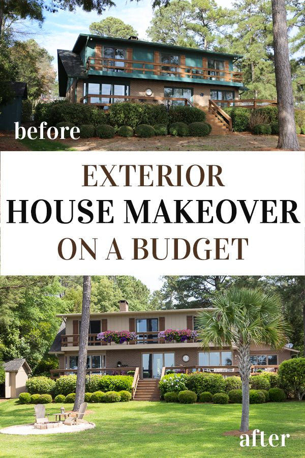 Before & After Exterior House Painting Reveal