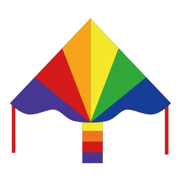 Simple Flyer SpectrumINVENTO/インベント Kites [カイト・凧] - bambooforest [バンブーフォレスト] -自然から科学まで-大人も子供もみんなで遊ぼう!-