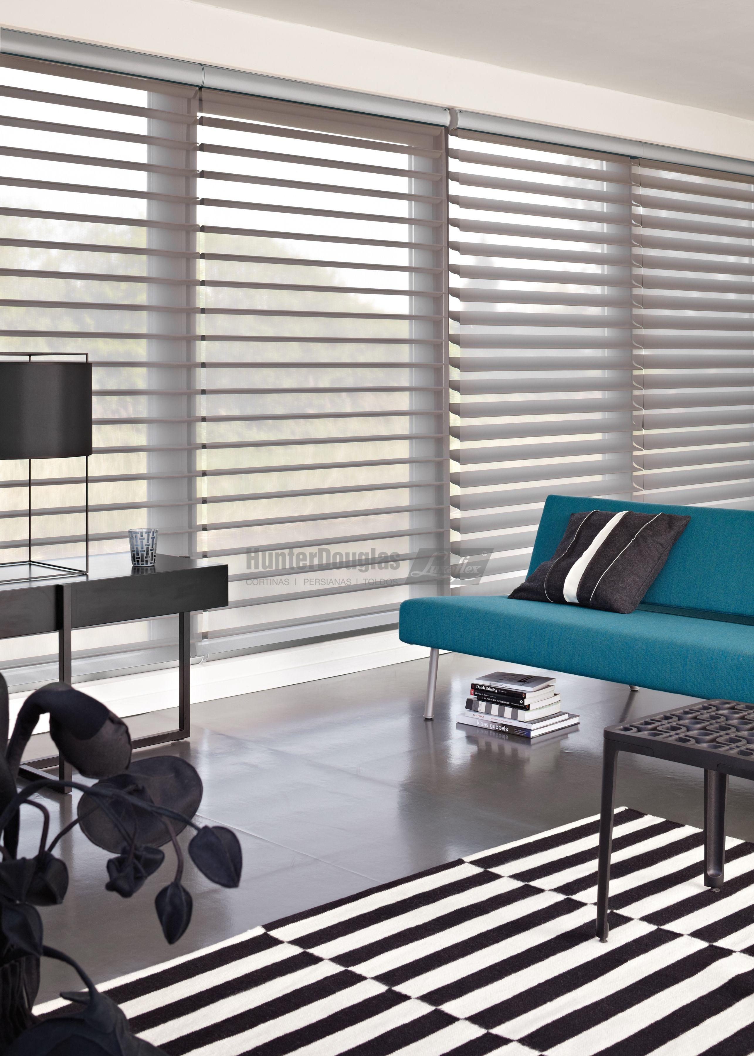 Cortinas Silhouette® HunterDouglas Luxaflex® | Gordijnen | Pinterest