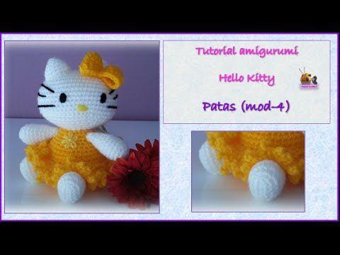 Crochet Amigurumi Hello Kitty Ballerina Free Pattern [Video ... | 360x480