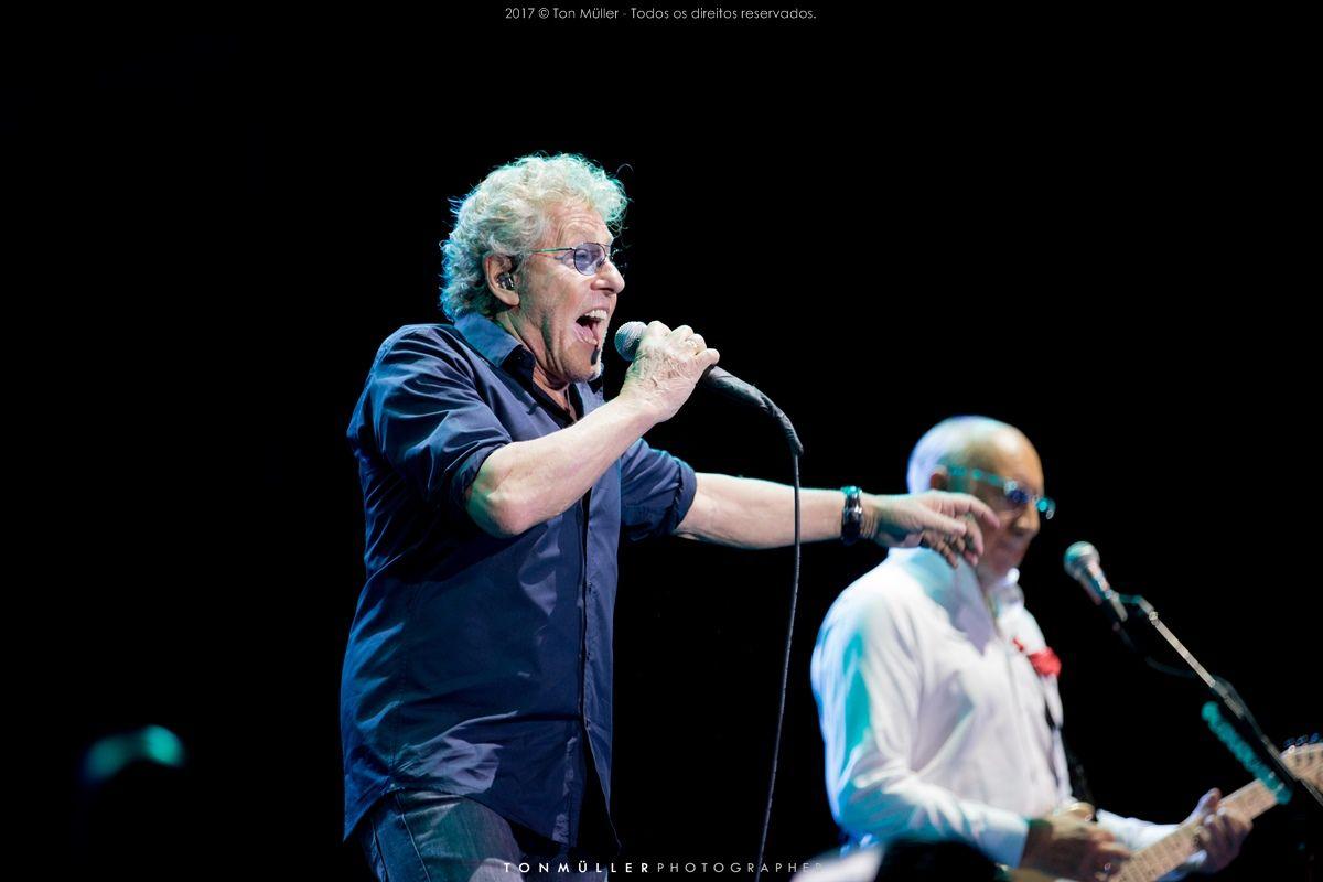 Fotos do show The Who + Def Leppard em Porto Alegre - Brasil