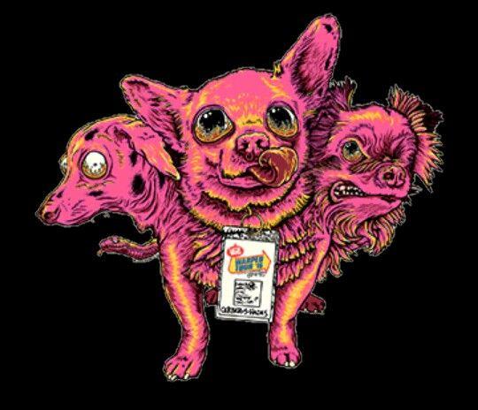 Warped Tour 2016 Three Headed Dog