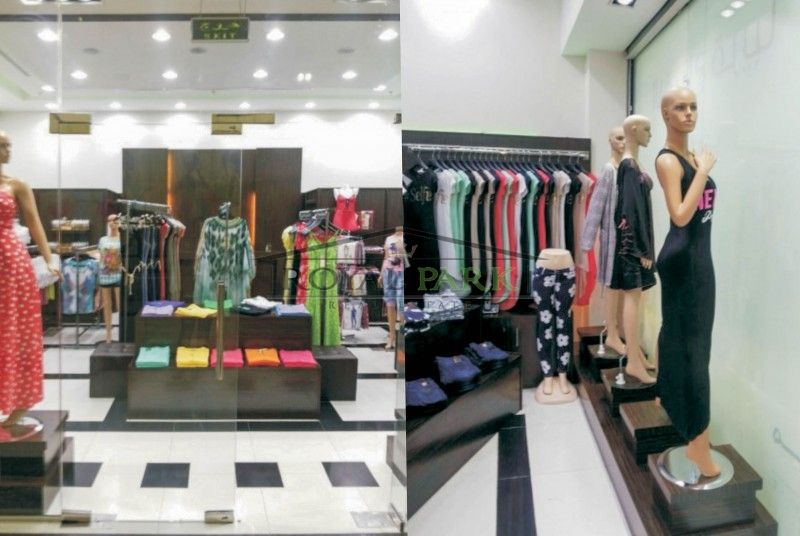 Al Muhaisnah 4 Madina Mall Ladies Fashion Shop for Sale BUA 500 - room for rent contracts
