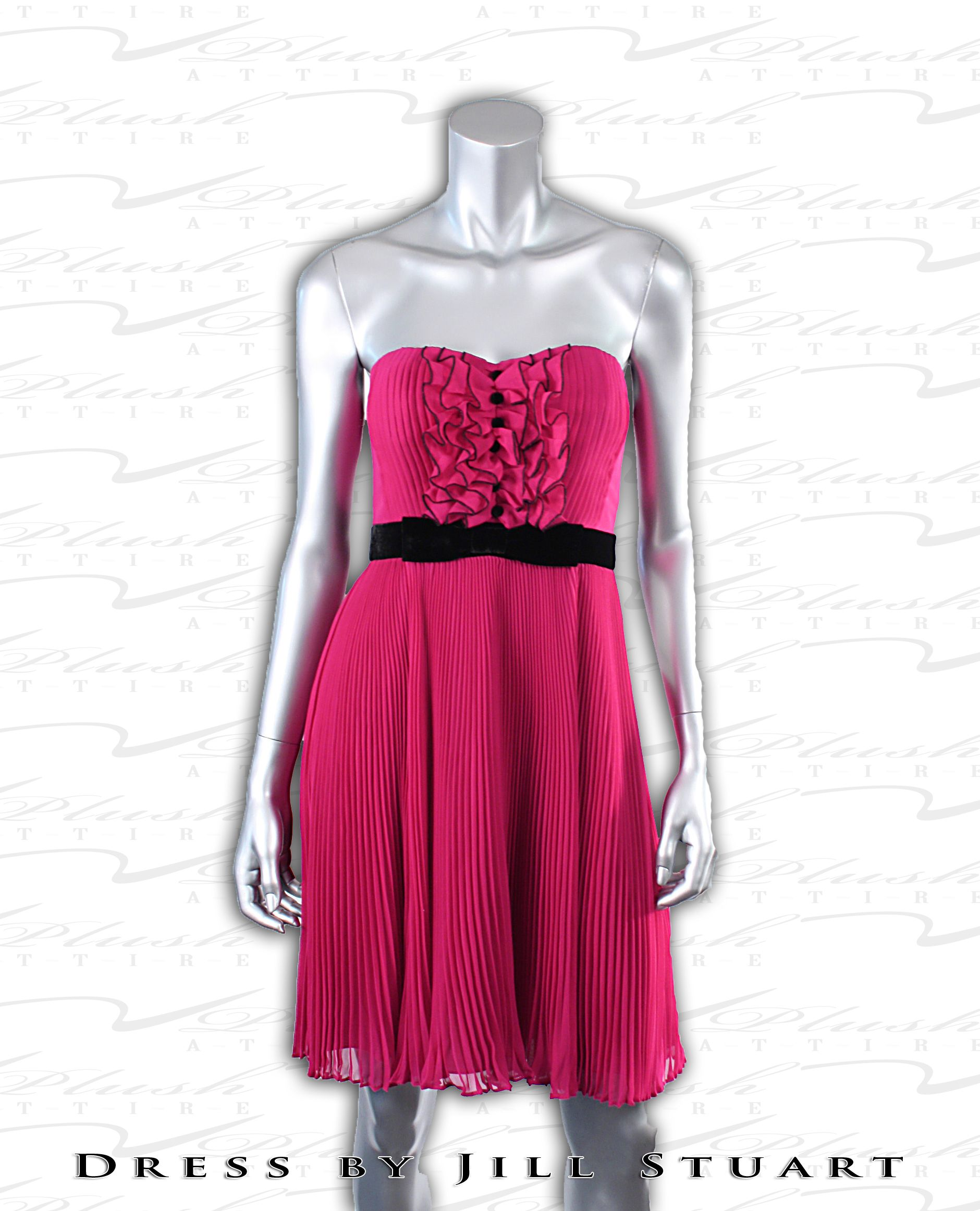 Here is your Fashion Idea for the day: Amazing Strapless dress from Jill Stuart. Perfect for Spring 2012 as it's a strong, bold color, simple yet elegant, & has a light feel to it.