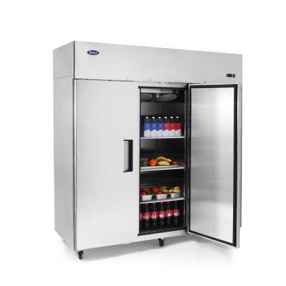 Atosa Mbf8003 Top Mount 3 Three Door Freezer Locker Storage Top Mount Door Handles