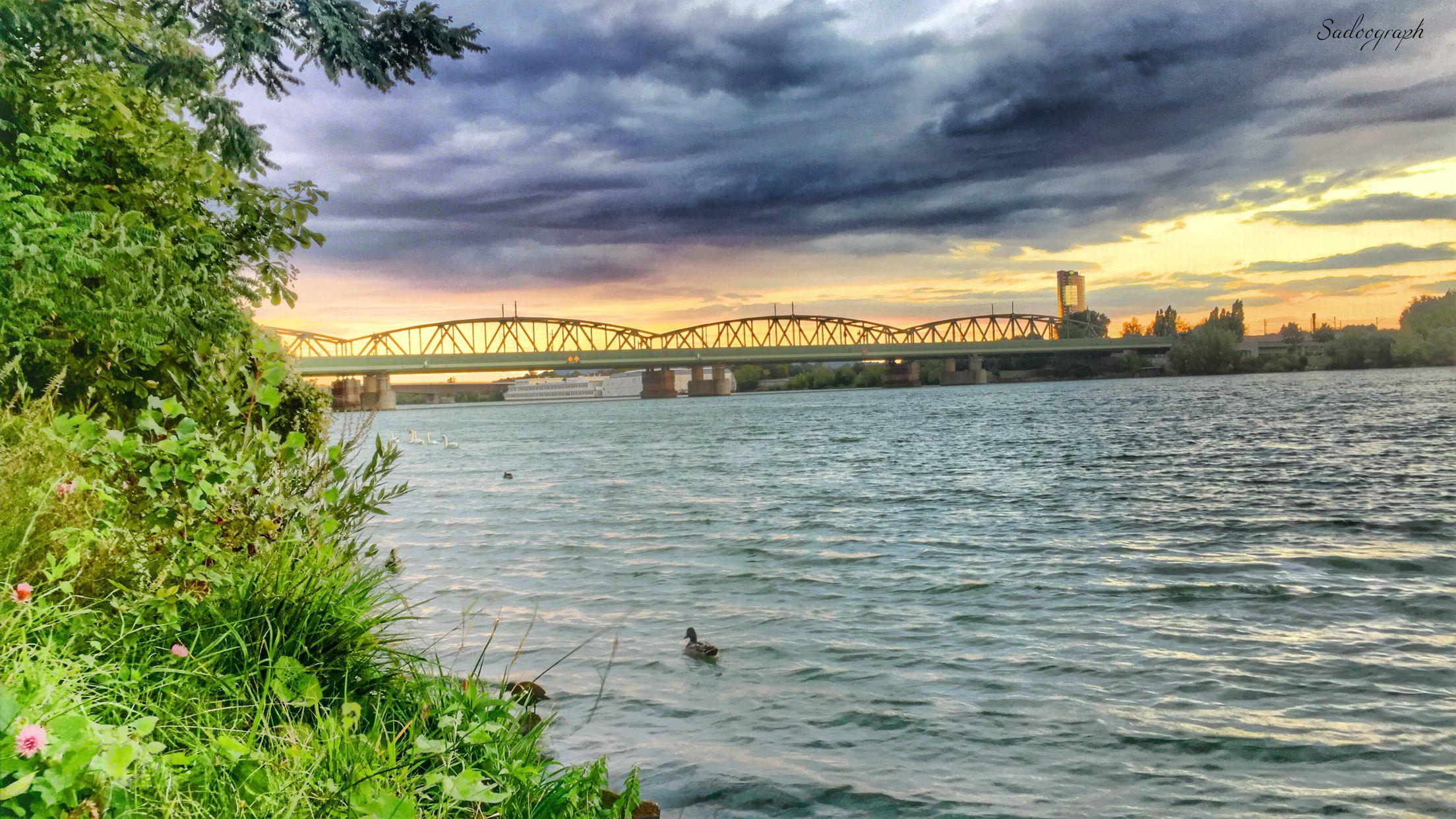 Sonnenaufgang, Sonnenuntergang, Beginn und Ende, eines alten und neuen Lebens. - - - - #danube #river #sunset #nature #objektifimden #ourplanetdaily #igphotoworld #iphonephotography #sadoogrpah